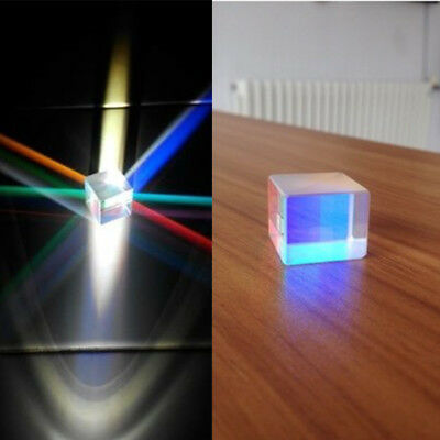 Defekte Flocke Prism Glass RGB Dekoration Für 405nm ~ 450nm Blaue Laserdiode