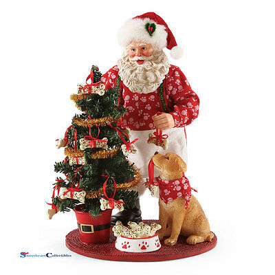 Dept 56 Possible Dreams Santa 4056215 Good Dog 2017