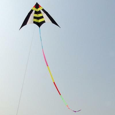15m Colourful Kite Tail Windsock Wind Spinner Garden Decor Kids Outdoor Toy