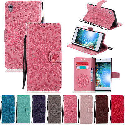 -LiKT Leather Case Cover For Sony Xperia M4 M5 M2 XA XZ X Z4 Z3 Z5 Compact C6 E5