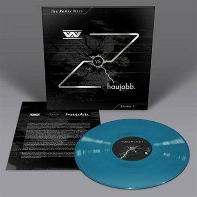 WUMPSCUT vs. HAUJOBB The Remix Wars: Strike 1 LP BLUE VINYL 2016 LTD.200