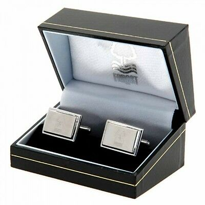 Nottingham Forest Stainless Steel Cufflinks Gift New Official Licensed Product