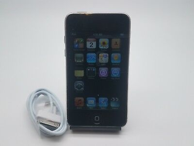 Apple iPod touch 2. Generation Schwarz (8GB) DEAD PIXEL LINE ON THE DISPLAY