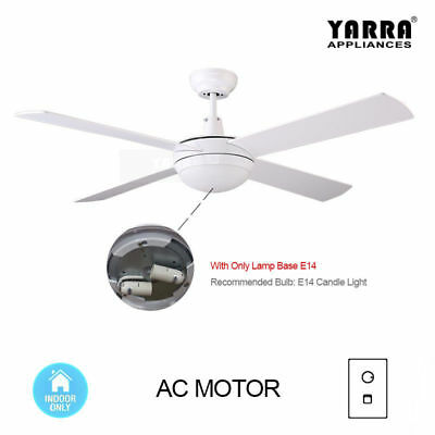 52'' Ceiling DC Fan Walnut Brown Paint with Remote Control Delors