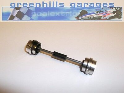 Greenhills Scalextric Ferrari 312T Front Axle & Wheels Chrome Used – P2621