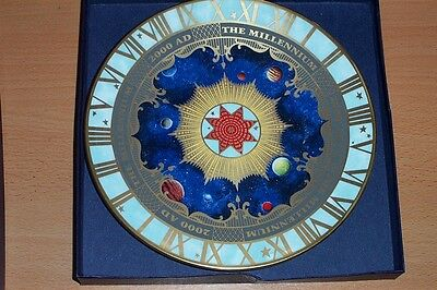 Royal Worcester Millenium Plate - Boxed - Fine Bone China 2000