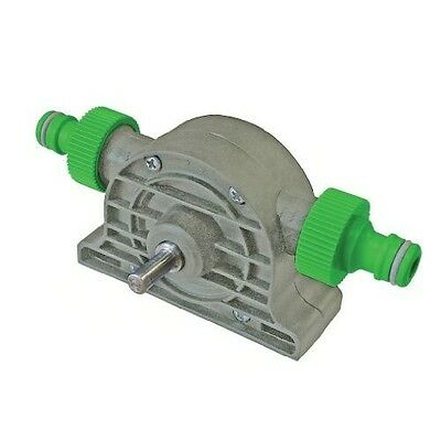 Water Pump Attachment For Use With Electric Power Drills And Hose1800L Per Hour