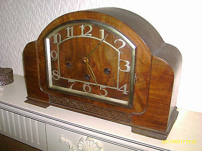Haller Westminster Chime  Art Deco Style Clock