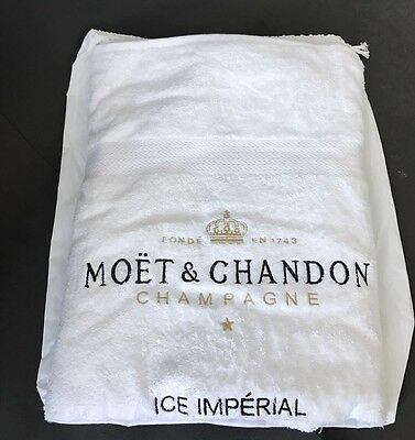 Moët Chandon Ice Imperial Strand Tuch Handtuch Ibiza Champagner Bar NEU OVP