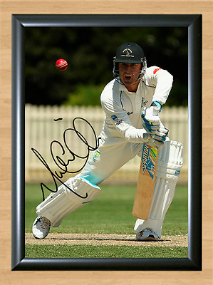 Michael Clarke Cricket Signed Autographed A4 Poster Photo Print Memorabilia 2