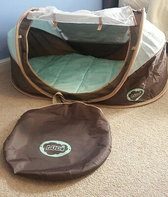 LUDI nomade 3202  BABY TENT with mattres  VGC  AMAZON PRICE £52 used once