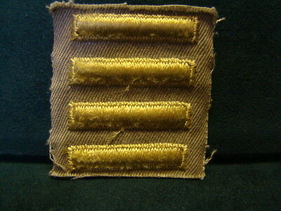 WW2 US Army overseas bars patch 4 bar