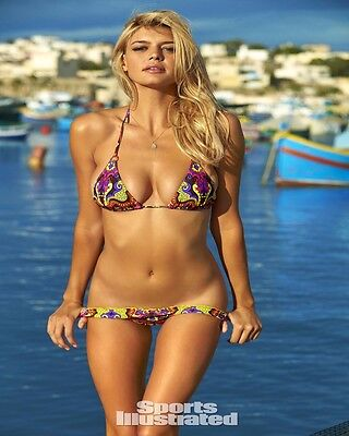 8X10 Kelly Rohrbach GLOSSY PHOTO photograph picture bikini swimsuit model #3