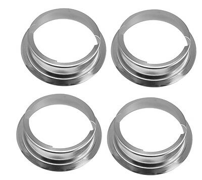 "4 X O6 6"" Metal Mounting Flange Adapter Ring for Speedotron ideal / Snoot / Dish"