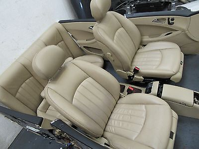 Mercedes Cls W219 2005-2011 Leather Interior Seats And Door Cards Electric
