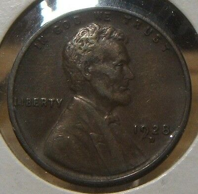1928-D  Lincoln  Wheat Cent~~Vf-Xf