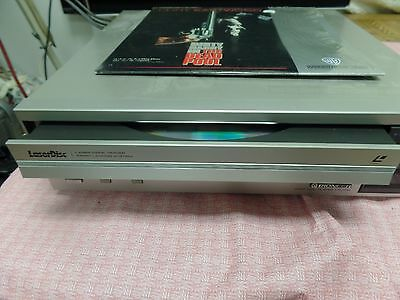 Pioneer LD-700 LD LaserDisc Home Audio Video Disc Player WORKING No Remote