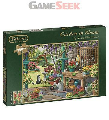 Falcon De Luxe Garden In Bloom Jigsaw Puzzle (X-Large, 200-Piece) - Toys New