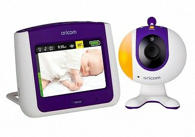"""ORICOM Secure 870 3.5"""" Baby Monitor Touch Screen Camera Starry Lightshow (SC870)"""