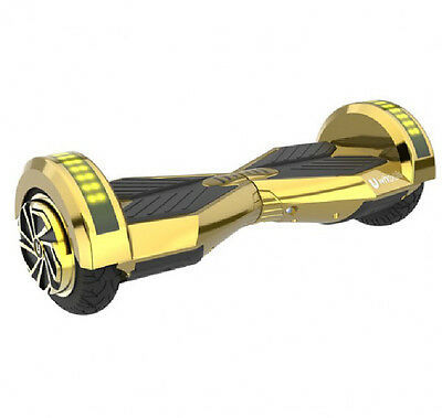 Gold lamborghini 2 Two Wheel Self Balancing electric Scooter UL Certified LED