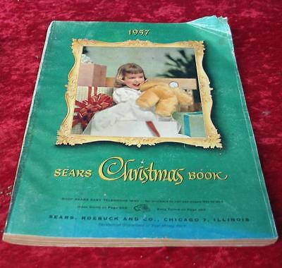 Vintage 1957 Sears Roebuck & Company Christmas Wishbook Catalog