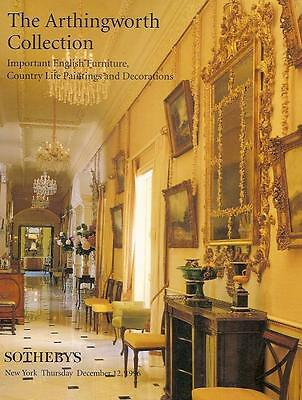 Sotheby's Sale 6931 The Arthingworth Collection HC Auction Catalog 1996