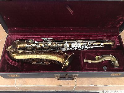 Martin Committee II Lion and Crown Tenor Saxophone