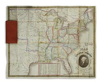 PHELPS, HUMPHREY. Map of the United States. Lot 182