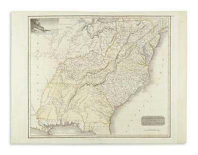 THOMSON, JOHN. Southern Provinces of the United States. Lot 201