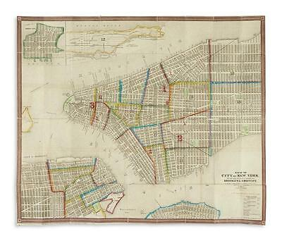 (NEW YORK CITY.) Ensign & Thayer. Map of the City of New York, Lot 155