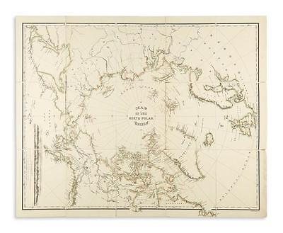(POLAR.) Bauman, William; and U.S. Hydrographic Office. Map of the No... Lot 183