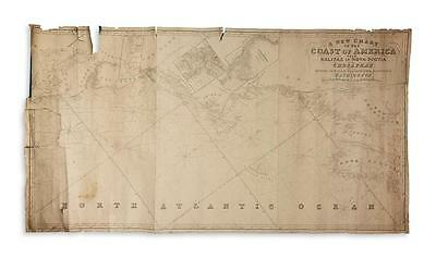IMRAY, JAMES, and son. A New Chart of the Coast of America from Halifa... Lot 98