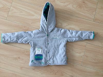 M&S 9-12 Months Boy Hooded Jacket