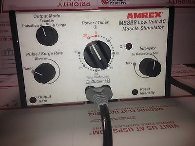 AMREX MS322 Low Volt Muscle Stim