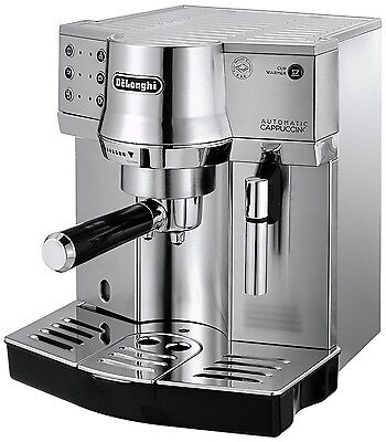 Delonghi EC860.M Traditional Pump Espresso & Cappuccino Machine in Silver