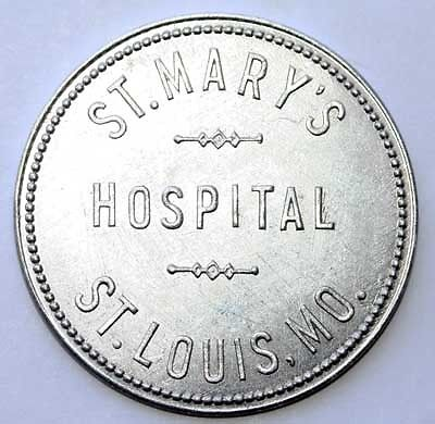 St. Louis, Missouri Hospital Good For Trade Token; Mo