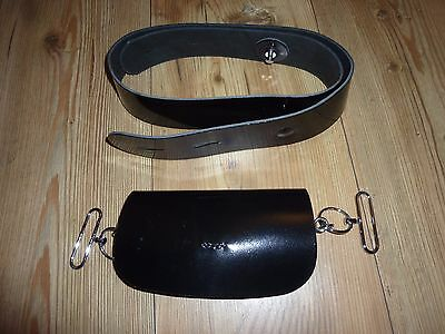 Rifles Colour Sergeant/sergeant Cross Belt And Pouch Genuine Issue