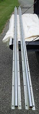 "Supported Linear Rail, Round 20mm, 108"" - *USED*"