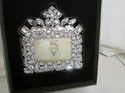 "OLIVIA RIEGEL Crystal ""Tiara"" 2x3 Photo Frame New in Box"