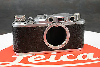 - Leica 1 (A)/ II (D) Conversion 35mm Camera Body # 313446