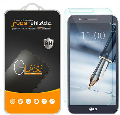 Supershieldz Tempered Glass Screen Protector Saver Shield For LG Stylo 3 Plus