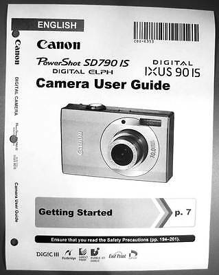 canon powershot sd500 ixus 700 digital camera user guide instruction rh picclick com Owners Manual Canon Canon Camera User Manual