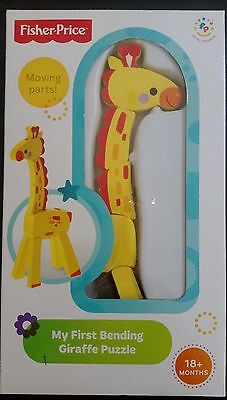 Fisher Price My First Bending Giraffe Puzzle