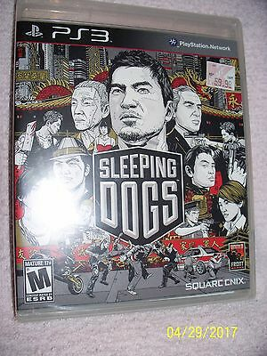 Sleeping Dogs (Sony PlayStation 3, 2012) PS3 GAME, BRAND NEW AND SEALED