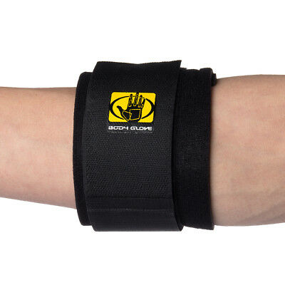 Unisize Tennis Elbow Wrap By Body Glove Breathable Neoprene Compression Support