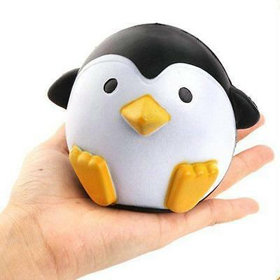 Fancy Squishy Penguin Scented Squeeze Slow Rising Fun Toy Relieve Stress Cure J