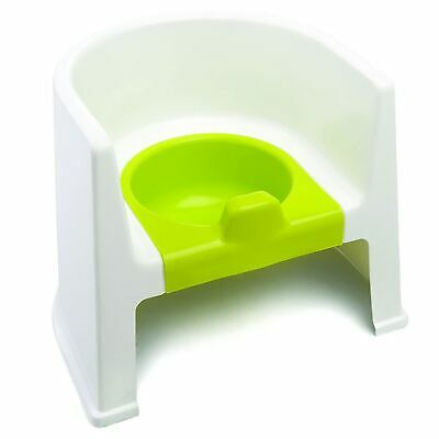 The Neat Nursery Co. Child / Kids Potty Training Chair - White / Lime