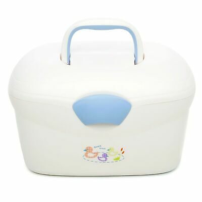 The Neat Nursery Co. Ergo Bab Bath Storage Box Organiser - Quack Quack Blue