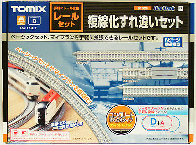 Tomix 91028 Double Track Rail Set (N scale)