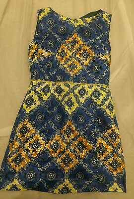 African print mini dress African fashion African print dress